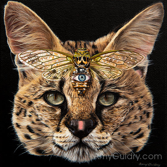 Entwine - Serval and Cicada